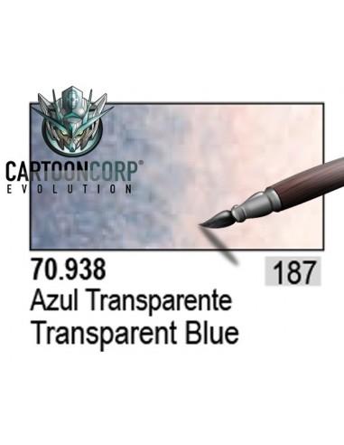 187 - 70938 - AZUL TRANSPARENTE