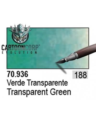 188 - 70936 - VERDE TRANSPARENTE