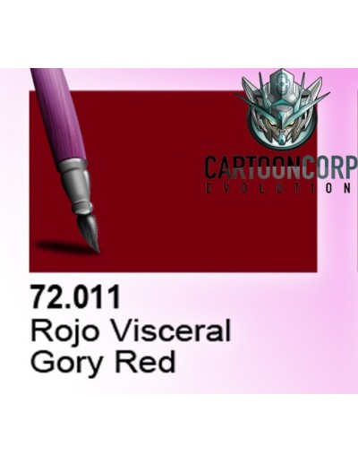 72011 - ROJO VISCERAL