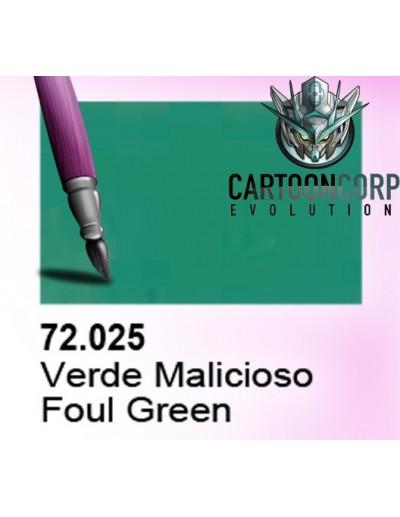 72025 - VERDE MALICIOSO