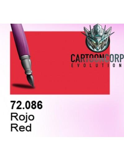 72086 - TINTA ROJA