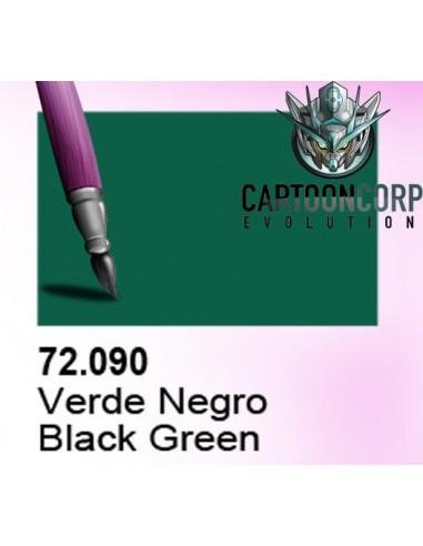 72090 - TINTA VERDE NEGRO