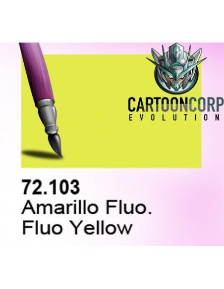 72103 - AMARILLO FLUORESCENTE