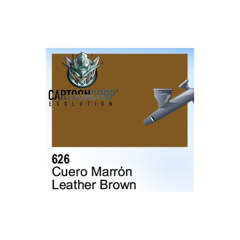 626 - CUERO MARRON