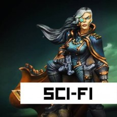 SCI-FI RAGING HEROES
