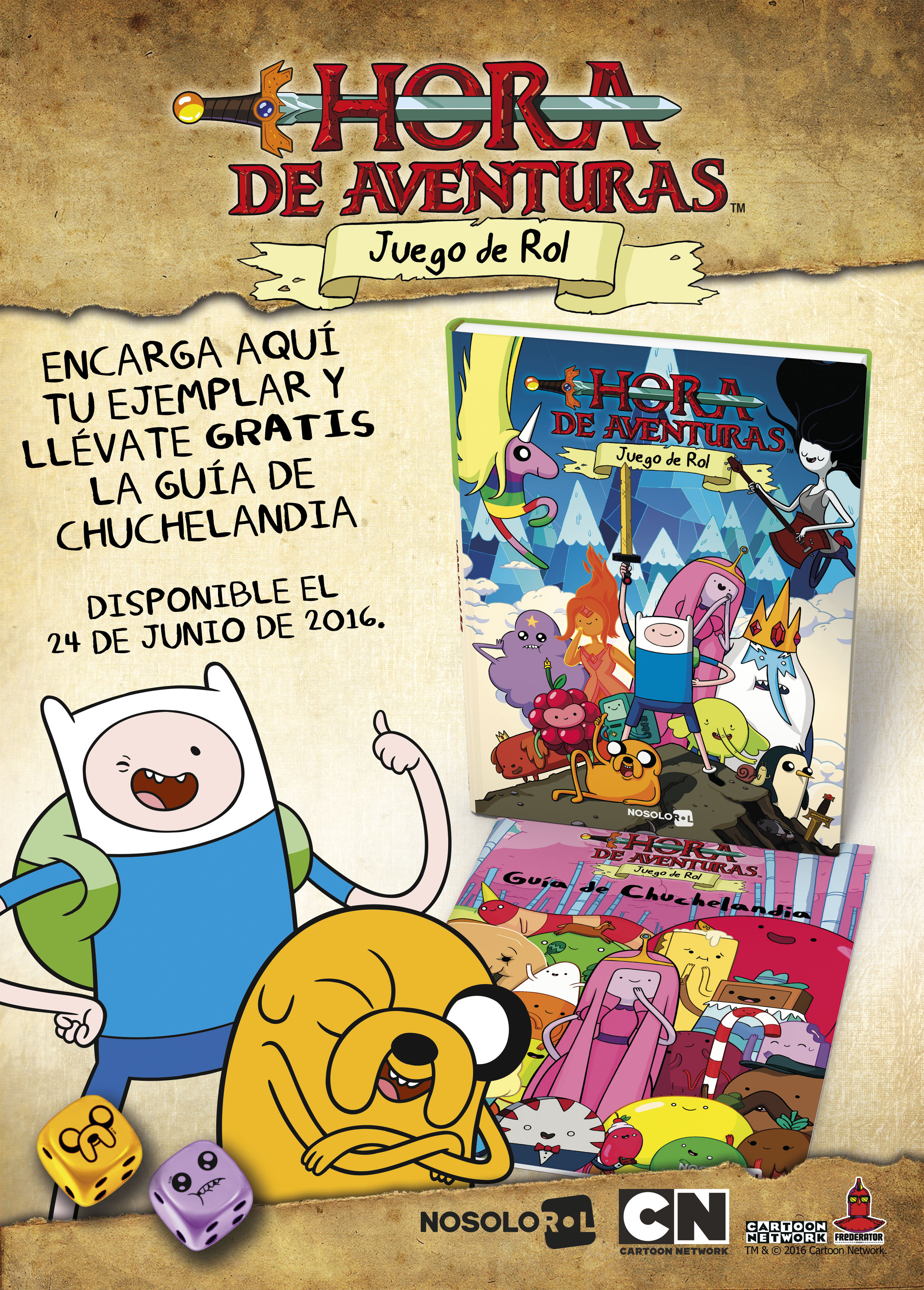 Cartooncorp Llega Hora De Aventuras El Juego De Rol Cartooncorp